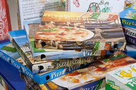 Contenitori, scatole e cartoni per pizza